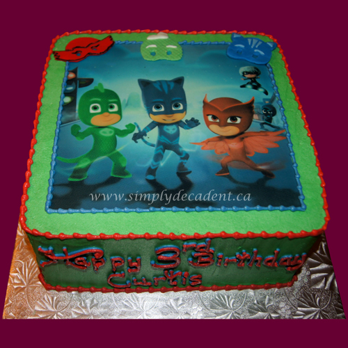 Edible Cake Images Gosford : Simply Decadent ~ Edible Image Cakes